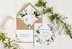 Papiernictvo - Svadobné oznámeni