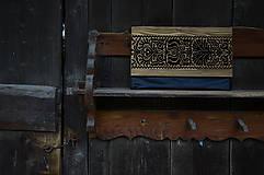 Kabelky - DREVENÁ KABELKA blackmood - 10613678_