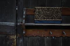 Kabelky - DREVENÁ KABELKA blackmood - 10613680_