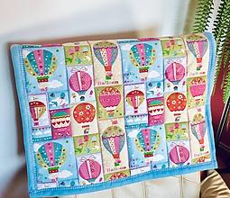 Textil - AKCIA - detská deka zavinovačka - 10612482_