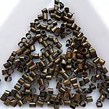Korálky - Zatláčací rokajl-2x2-3mm-50ks - 10613621_