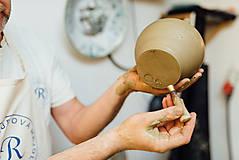 Nádoby - Modrý džbán na víno - 10610336_