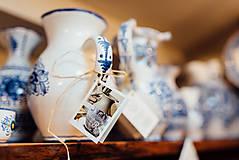 Nádoby - Modrý džbán na víno - 10610337_
