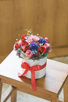 Dekorácie - FlowerBox TRADÍCIA - 10611860_
