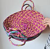 Košíky - Pletený palmový kôš (CAT) - 10613282_