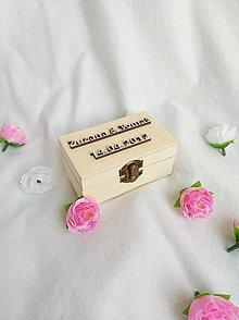 Krabičky - Krabička na prstene - 10611680_
