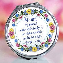 Zrkadielka - Zrkadielko pre mamu 6motívov - 10611149_
