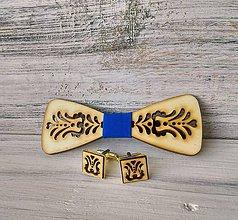 Doplnky - Sada drevený motýlik