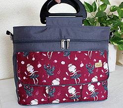 e3539e4807 Veľké tašky - Prebaľovacia taška Baletka - 10611761