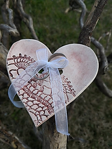 Prstene - podobrúčka srdce - 10611002_