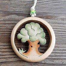 Dekorácie - Drevený Strom - 10610694_