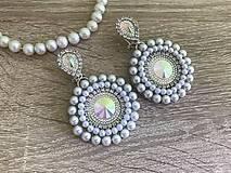 Náušnice - Svadobné náušnice Wedding Pearls - 10612153_