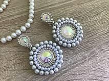Náušnice - Svadobné náušnice Wedding Pearls - 10612155_