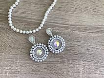 Náušnice - Svadobné náušnice Wedding Pearls - 10612156_
