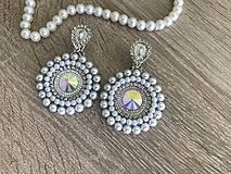 Náušnice - Svadobné náušnice Wedding Pearls - 10612173_