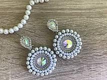 Náušnice - Svadobné náušnice Wedding Pearls - 10612174_