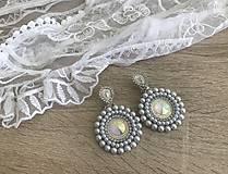 Náušnice - Svadobné náušnice Wedding Pearls - 10612358_