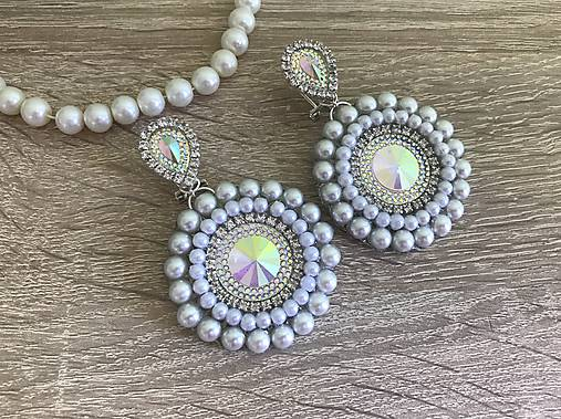 Svadobné náušnice Wedding Pearls