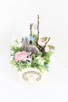 Dekorácie - Veľkonočná dekorácia - 10612844_
