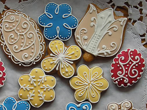 Dekorácie - Medovníky_dekoratívne... 12 kusov - 10612114_