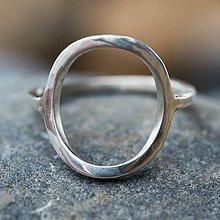 Prstene - Geometrický prsten - 10611076_