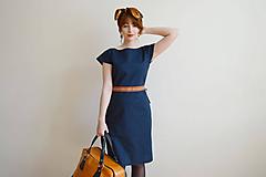 - Modré šaty - 10612701_