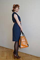 Šaty - Modré šaty - 10612705_