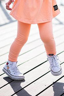 Detské oblečenie - LEGÍNY CLASSIC STYLE (92 - Lososová) - 10610838_