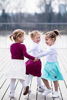 Detské oblečenie - SUKŇA CLASSIC (80 - Lososová) - 10611411_
