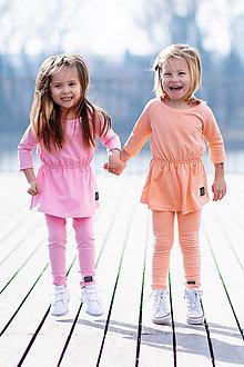 Detské oblečenie - TUNIKA CLASSIC (92 - Lososová) - 10611562_