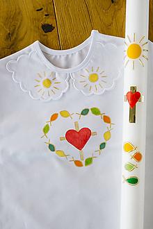 Svietidlá a sviečky - Set na krst Devotion - 10613508_