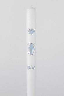 Svietidlá a sviečky - Gentleness modrá - 10613623_