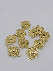 Komponenty - Kovové tvary, medzikusy (Kvet) - 10612885_