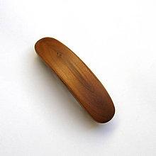 Ozdoby do vlasov - Drevená spona do vlasov - hlošinová malá - 10611257_