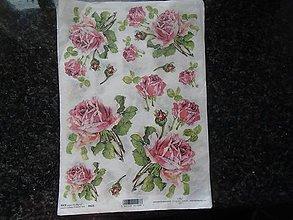 Papier - ruže - 10612140_