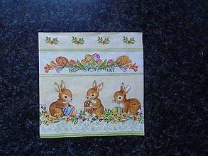 Papier - zajačiky - 10612212_