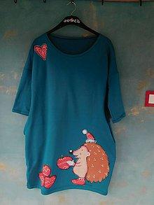 Šaty - ježkove oči - 10614790_