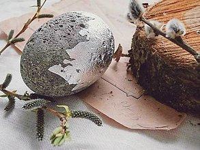 Dekorácie - betónové vajíčko To be Concrete - 10615614_