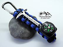 Kľúčenky - Kompas na batoh+cepínik - 10613861_