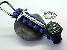 Kľúčenky - Kompas na batoh+cepínik - 10613862_
