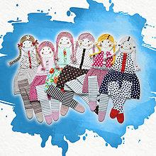 Detské doplnky - Vešiak na sponky / sponkovník - kámošky, ktoré sú skladom - 10615560_