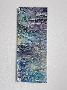 Obrazy - Abstract: Divoká rieka, 20 x 50 cm - 10614202_