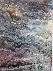 Obrazy - Abstract _ Divoká rieka, 20 x 50 cm - 10614235_