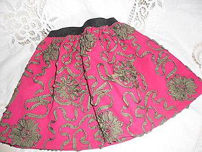 Detské oblečenie - Suknička pre dievčatko 5 - 8 rokov. - 10614521_