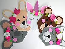 Girlanda do detskej izby (Zvieratká s kvetinovým venčekom)
