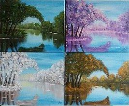 Obrazy - 4 ročné obdobia séria - 10614238_