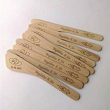 Pomôcky - Drevené varešky - 10614428_
