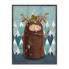 Úžitkový textil - Prikrývka Yeti (178x135 cm) - 10615376_
