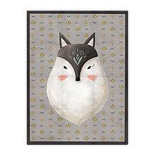 Úžitkový textil - Prikrývka Wolfy (178x135 cm) - 10615416_