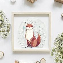 Kresby - Foxy lady - 10614246_
